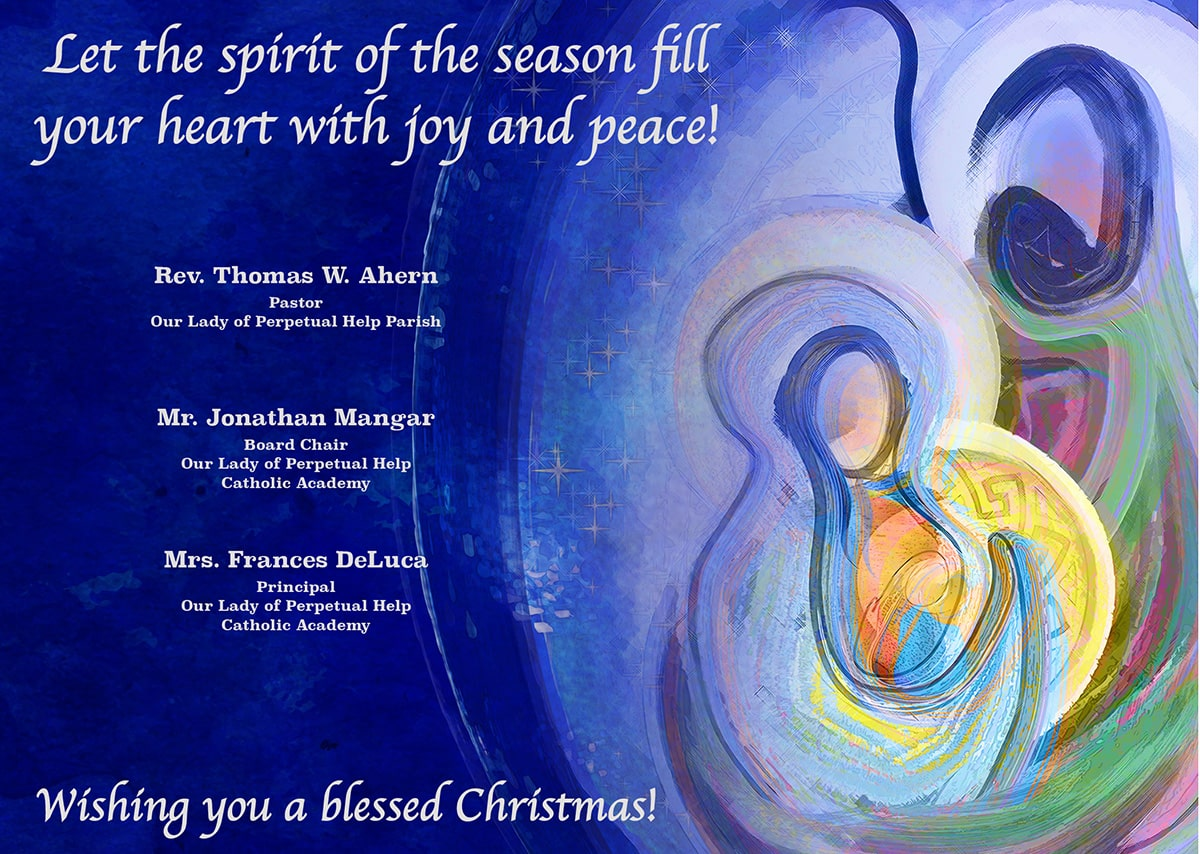 Olph Christmas Card Min Our Lady Of Perpetual Help Catholic Academy