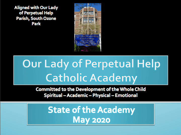 state of the academy presentation cover slide